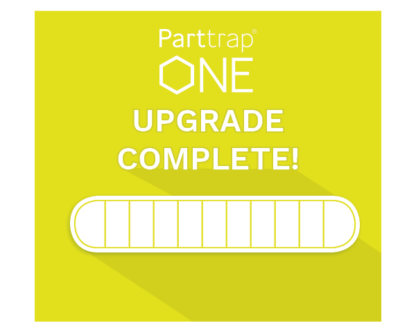 Upgrades to Parttrap ONE!