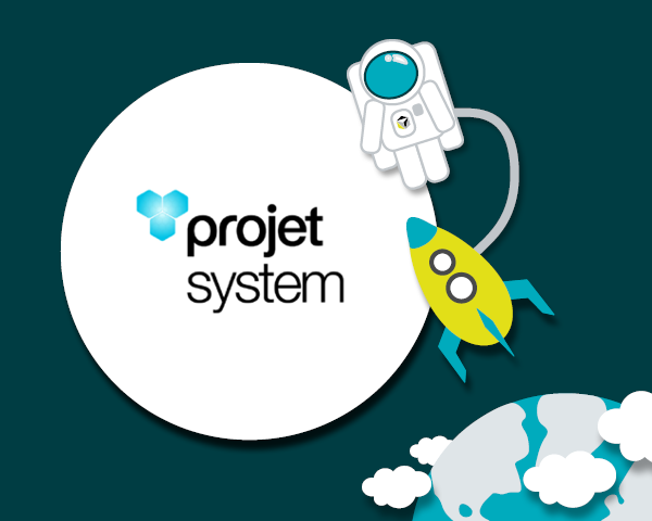 Projet system is officially launched!